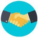 icons handshake